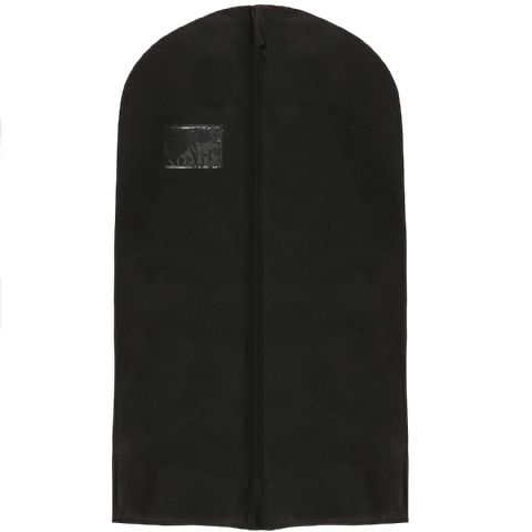 Black Thick Hanging Clothes Suit & Shirt Cover